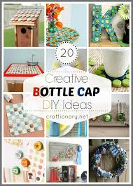 Craft Ideas For Decorating Home by 20 Creative Bottle Cap Ideas Recycle Crafts Bottle Cap Projects