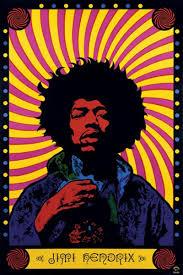 Radio One Jimi Jimi Hendrix Psychedelic Poster Pp30356 Jpg 799 1200 Quadros