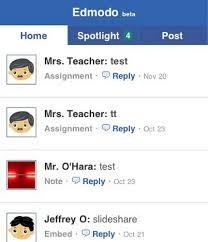 edmodo teacher edmodo mobile web application