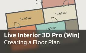 live interior 3d pro for windows creating a floor plan youtube