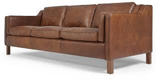 sofa cool modern brown leather sofa