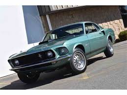 1969 Black Mustang 1969 Ford Mustang For Sale On Classiccars Com 102 Available