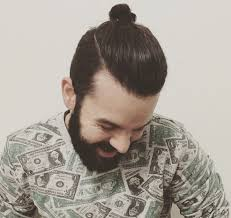 top knot hairstyle men 7 types of man bun styles for men explained man bun hairstyle