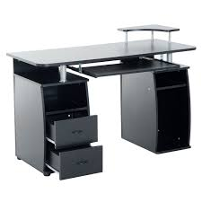 Computer Desk With Shelves Above 61 Most Tremendous Office Desk Furniture Drawers Storage