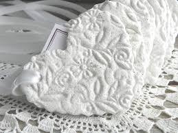 Baptism Ornament Favors Large Personalized Imprinted Heart Wedding Baptism Favors Set Of