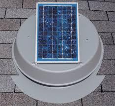 solar attic fan 12 watt panel