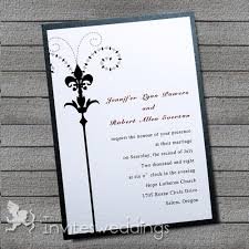 simple wedding invitations black l simple layered wedding invites iwfc024 wedding