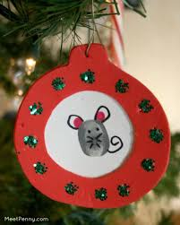 Home Made Christmas Decor Homemade Christmas Ornaments On My Christmas Tree Meet Penny