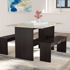 Dining Room Bench Sets Bench Kitchen Dining Room Sets You Ll Wayfair