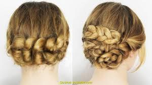 Einfache Hochsteckfrisurenen F Lange Haare Zum Selber Machen by Ziemlich Lange Haare Abschneiden Beim Friseur Deltaclic