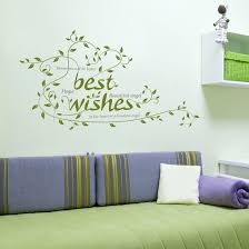 Home Decoration Stickers by The New Can Remove The Green Wall Stick A Sitting Room Home