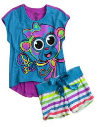 bff waffles 3 pajama set pajamas robes pjs bras