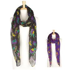 mardi gras fashion ka250 mardi gras mask scarf wholesale scarves ponchos