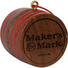 makers ornament whiskey by the glass
