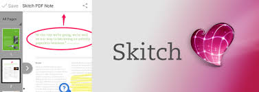 skitch android skitch 2 5 for android pdf annotation sts and more