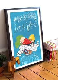 Mexican Kitchen Decor by Pico De Gallo Recipe Mexican Kitchen Print Illustrated Dia De Los