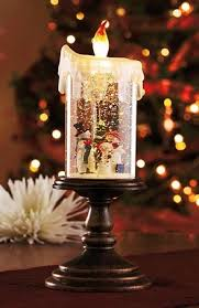 light up christmas candles snowman christmas led candles 2014 lighted christmas holiday candle
