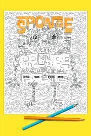 coloring pages spongebob coloring spongebob christmas