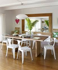 White Plastic Dining Table Brown Wooden Dining Table White Plastic Dining Chair Brown Wooden