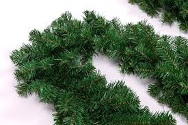 2 7 meters pine artificial wreath garland unlit in tree