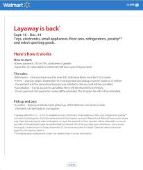 walmart layaway black friday walmart u0027s changed its layaway terms but layaway still stinks
