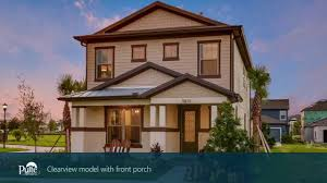 Pulte Floor Plans New Homes By Pulte Homes U2013 Clearview Floor Plan Youtube