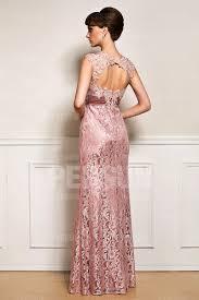 robe de soir e mari e robe soirée longue empire en dentelle laurence