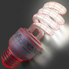 lights cfl bulbs 3d model