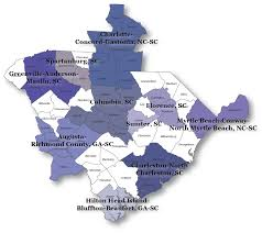 Columbia Sc Map Economic Growth Looking Good For State Columbia Region
