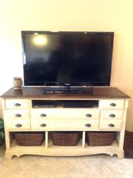 dressers tv stand dresser combo tv media chest bedroom white