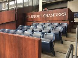 all rise the judge u0027s chambers in session at yankee stadium