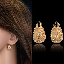 stylish gold earrings 15 stylish designs of small earrings for in trend styles