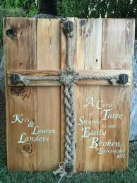 three cords wedding ceremony personalized rustic wedding alternative unity ceremony idea jute