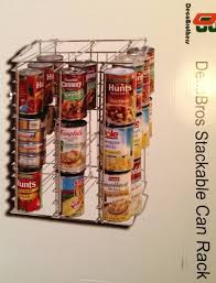 decor metal wire can rack for pantry organizer for home