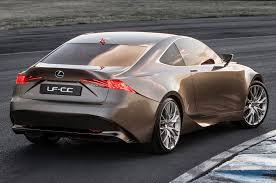 lexus concept sports car lexus lf cc concept meets is 350 f sport sedan w video