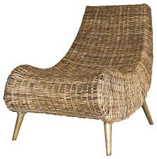 Rattan Accent Chair Trevia Rattan Chair Tropical Armchairs And Accent Rattan