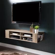 amazon com city life wall mounted media console 48 u201d wide