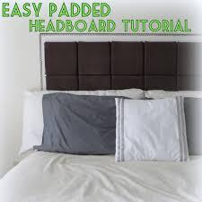 Diy Upholstered Headboard Diy Easy Padded Headboard Tutorial The Decor Guru