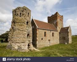 Dover Castle Roman Lighthouse Dover Castle Pharos Stock Photo Royalty Free