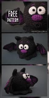 free pattern crochet bat for halloween http crochettoys com ua