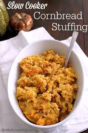 slow cooker thanksgiving stuffing slow cooker cornbread stuffing jpg