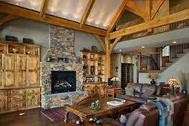 timber frame home interiors compact hybrid timber frame home design photos