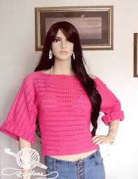 how to crochet a easy sweater for beginners
