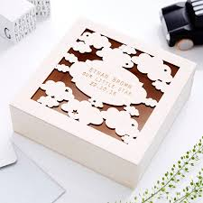 Engravable Keepsake Box Starry Night Personalised Engraved Keepsake Box By Sophia Victoria
