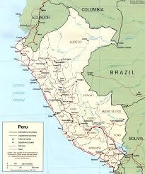 Map Of Lima Ohio by Peru Map Lima