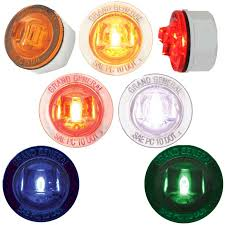 small round led lights small round led marker lights big rig chrome shop semi truck