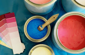 Home decoration_paint tins