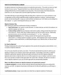 How To Write Professional Summary For Resume Professional Summary For Resume Sample 9 Examples In Word Pdf