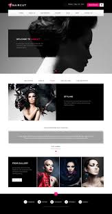 haircut barbershop spa beauty manicure html template by themedo