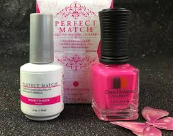 lechat heartthrob perfect match gel polish u0026 nail lacquer pms200 i
